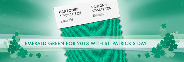 Pantone Color of the Year: Emerald Green